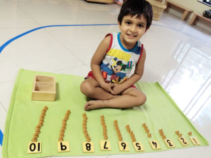 House Of Children Counting Learning