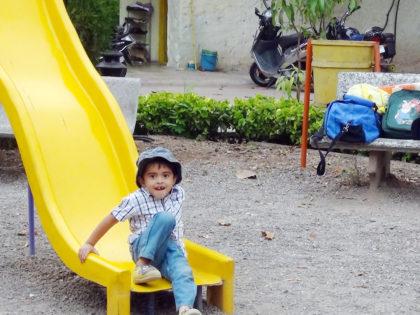 Slope slide