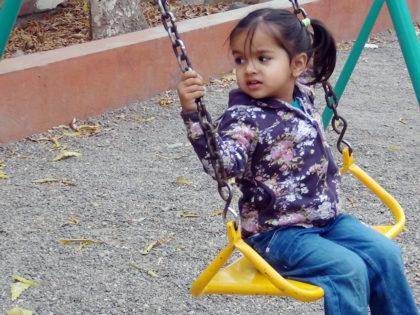 Outdoors playground Slider