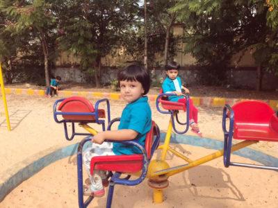 aarambh montessori outdoors