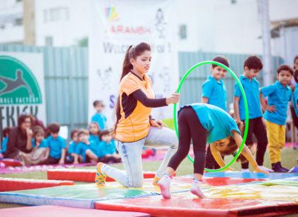 Gymnastics drill