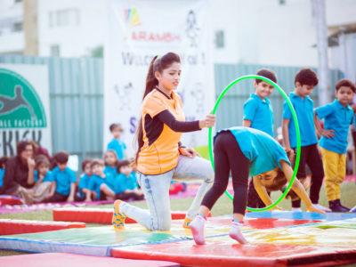 aarambh montessori sports day
