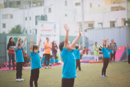 Yoga drill