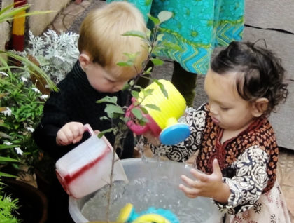 Toddler House Planting
