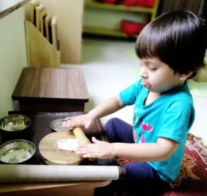 Toddler House Cooking