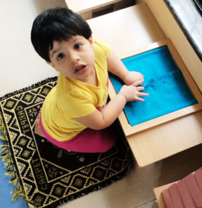 Toddler House Playing